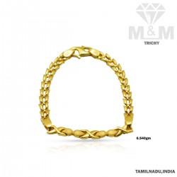 Tranquil Gold Casting Bracelet