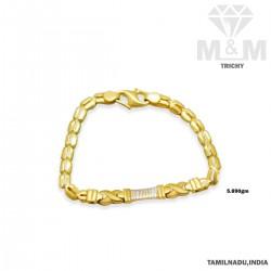 Subtle Gold Casting Bracelet