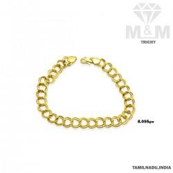 Fascinating Gold Fancy Bracelet