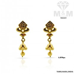 Celebrated Gold Fancy Earring