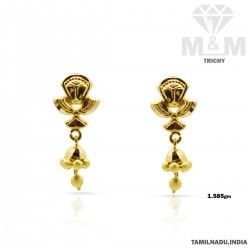 Legendary Gold Fancy Earring