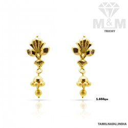 Popular Gold Fancy Earring