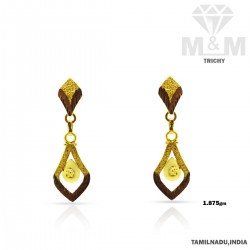 Modern Gold Fancy Earring