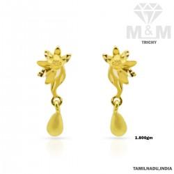 Legend Gold Casting Earring