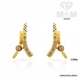 Tradition Gold Casting Earring
