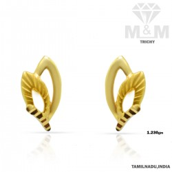 Fabled Gold Casting Earring