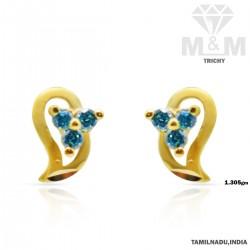 Grandest Gold Casting Earring