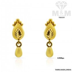 Nonpareil Gold Casting Earring