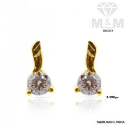 Lambent Gold Casting Earring