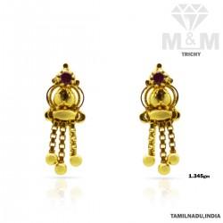 Observant Gold Casting Earring