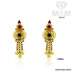 Superior Gold Casting Earring