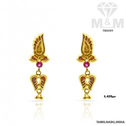Brilliantly Gold Fancy Earring