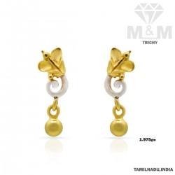 Splendid Gold Casting Earring