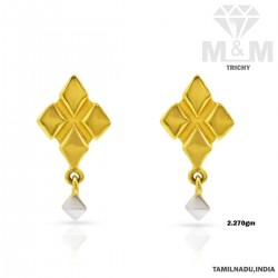 Culture Gold Casting Earring