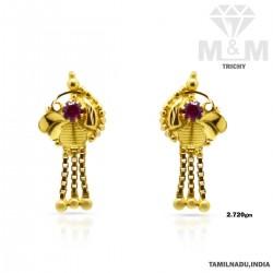 Amazing Gold Fancy Earring