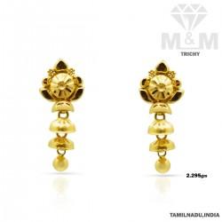 Canny Gold Fancy Earring