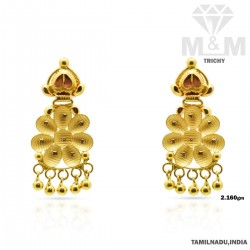 Charming Gold Fancy Earring