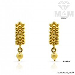 Dandy Gold Fancy Earring
