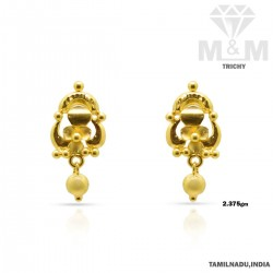 Fascinate Gold Fancy Earring