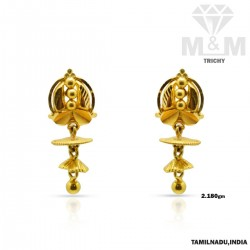 Marvelously Gold Fancy Earring