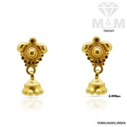 Prettiness Gold Fancy Earring