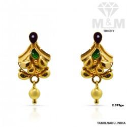 Prodigious Gold Fancy Earring