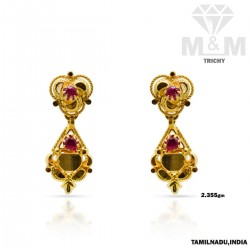 Ravish Gold Fancy Earring