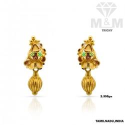 Sightly Gold Fancy Earring
