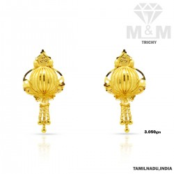 Niceness Gold Fancy Earring