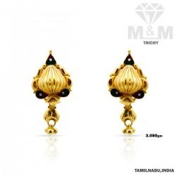Mesmerizing Gold Fancy Earring