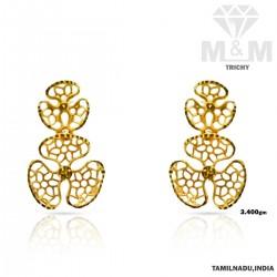 Elegance Gold Fancy Earring