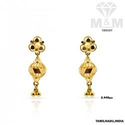 Sacred Gold Fancy Earring