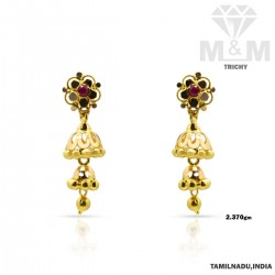 Inheritance Gold Fancy Earring