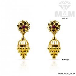 Unrivaled Gold Fancy Earring
