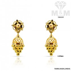 Splendid Gold Fancy Earring