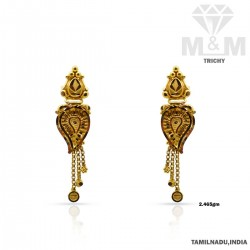 Virtuosic Gold Fancy Earring