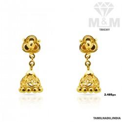 Festivity Gold Fancy Earring