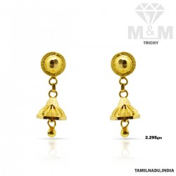 Magnificent Gold Fancy Earring