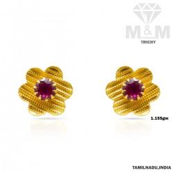 Prolific Gold Fancy Earring