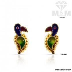 Treasured Gold Fancy Earring