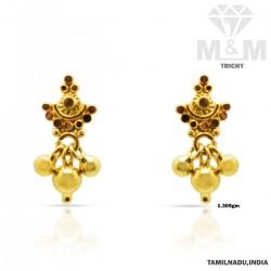 Memorable Gold Fancy Earring