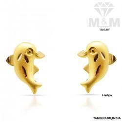 Celebrity Gold Fancy Earring