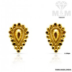 Glorious Gold Fancy Earring