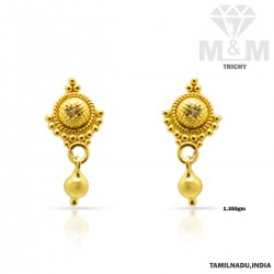 Renowned Gold Fancy Earring