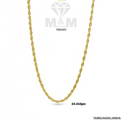 Sparkling Gold Fancy Chain