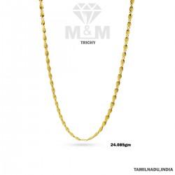 Dazzling Gold Fancy Chain