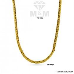 Vibrant Gold Fancy Chain