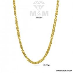 Tasteful Gold Fancy Chain