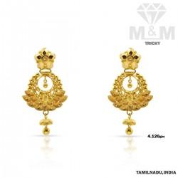 Astonishing Gold Fancy Earring