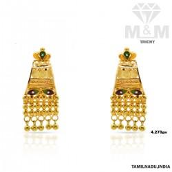 Beautiful Gold Fancy Earring
